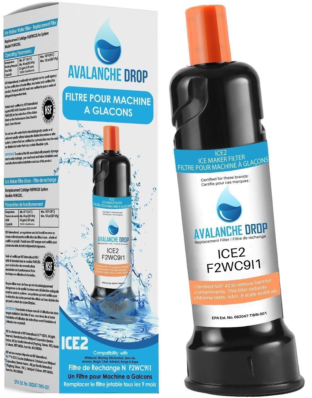 Amazon.com: ICE2 F2WC9I1 Ice Maker Filter - Superior Ice2 Whirlpool ...
