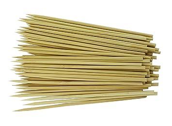 Minel Premium Natural pinchos de bambú para parrilla y ...