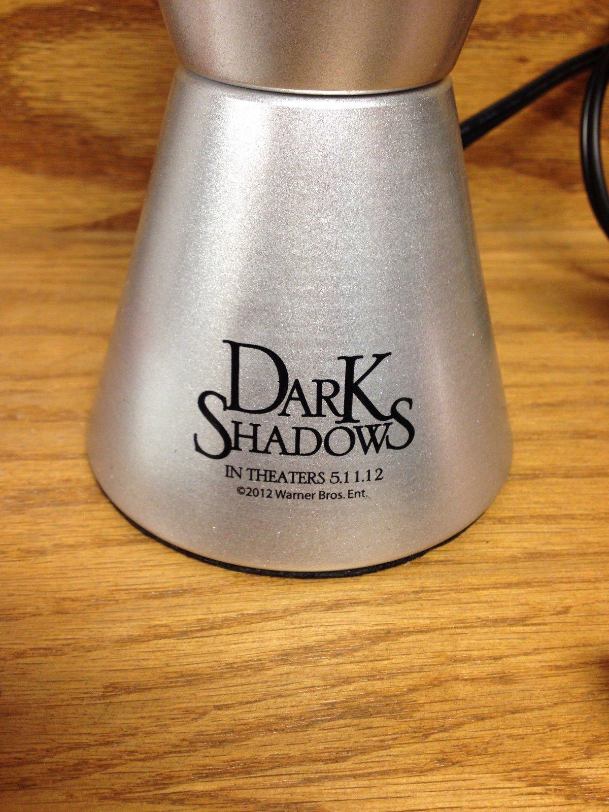 Retro Style Dark Shadows LAVA LAMP Light Movie Promo Tim Burton Johnny Depp Barnabas Collins