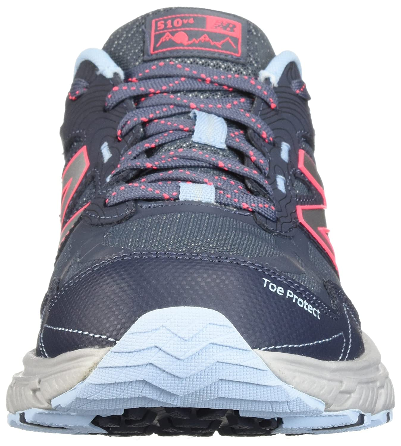 New Balance B0751Q7NJ9 Women's 510v4 Cushioning Trail Running Shoe B0751Q7NJ9 Balance 8.5 M US|Thunder ff6837