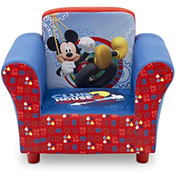 Delta Children Upholstered Chair Disney Mickey Mouse Baby