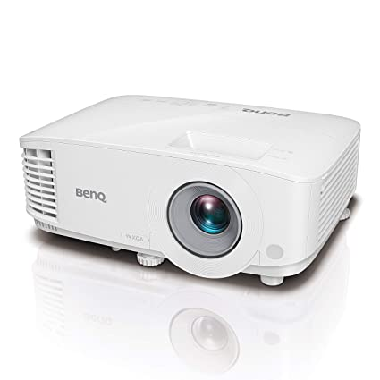 BenQ MW550 - Proyector DLP, WXGA, 3600 Lumens, 2X HDMI, Contraste 20.000:1, Color Blanco