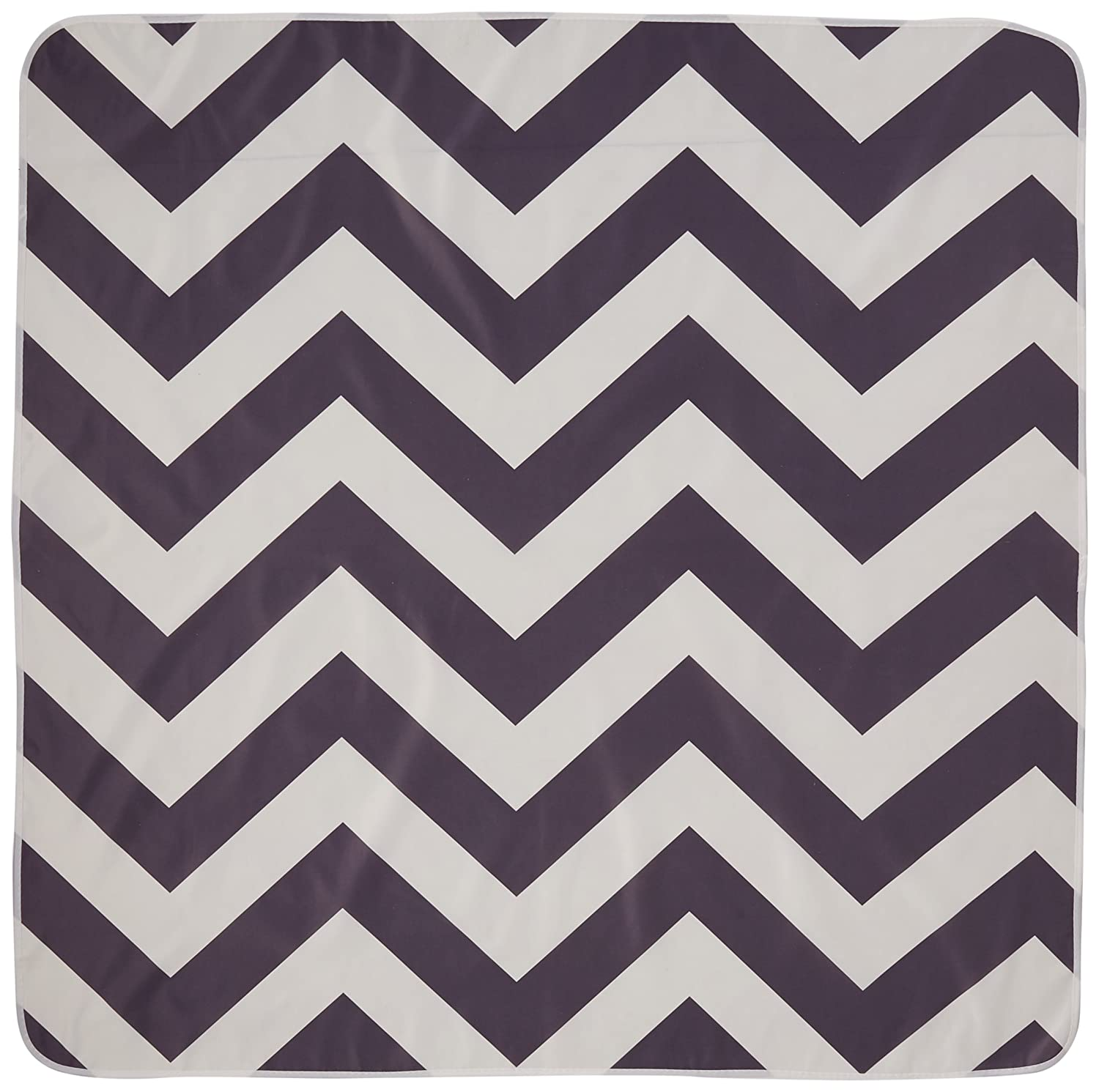 Prince Lionheart Multi-Use CatchALL Floor Mat (42 x 42-Inch, Chevron Coral) 2261
