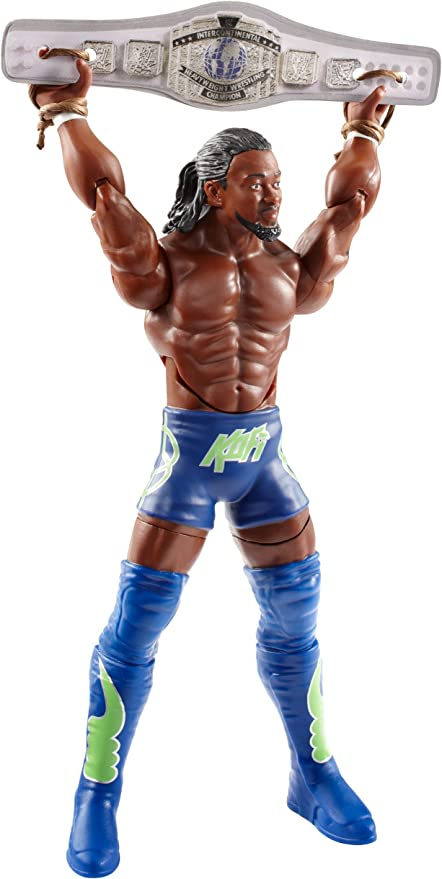 ACTION FIGURE! BRAND NEW AND SEALED WWE KOFI KINGSTON SUPER STRIKER