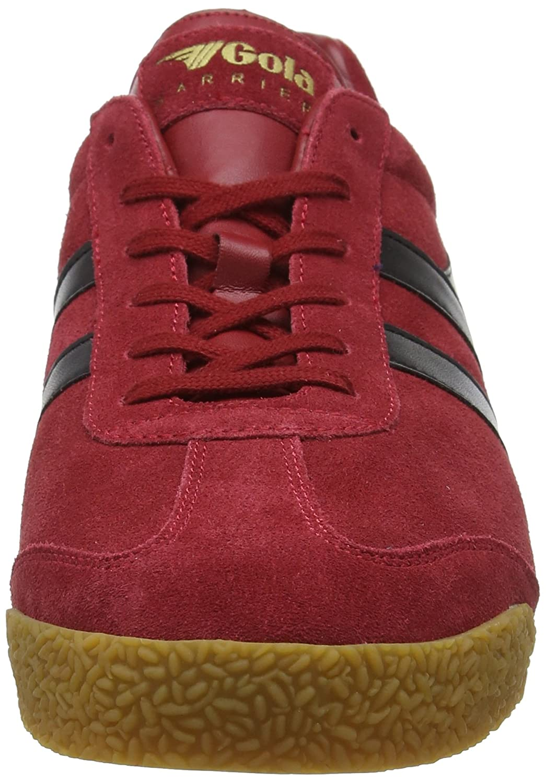 Gola Men's Harrier Fashion Sneaker Red/Black B079FXQNF1 7 D(M) US|Deep Red/Black Sneaker 4e7c0e