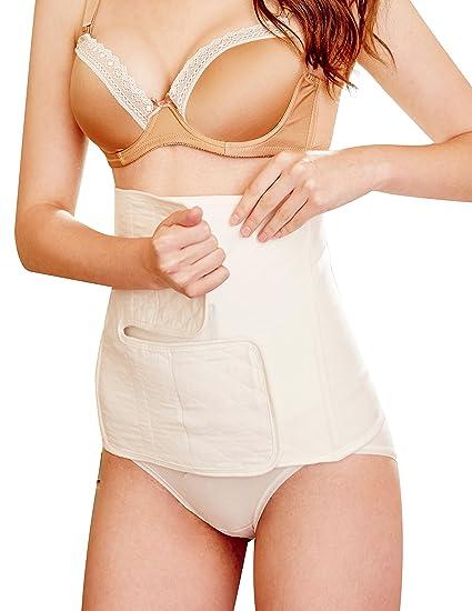 866da9c06bd6e Belly Band Ultra-breathable Shaped Belly Wrap Adjustable Postpartum  Restoration Belt M