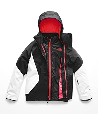 6e937d0777e2 The North Face Girl s Kira Triclimate Jacket - TNF Black   TNF White - XXS