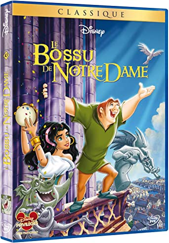 The Hunchback Of Notre Dame 1996 Amazon Co Uk Dvd Blu Ray