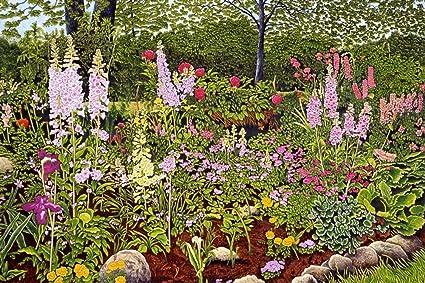 Amazon Com Wallmonkeys Rock Garden Wall Mural By Thelma Winter 72