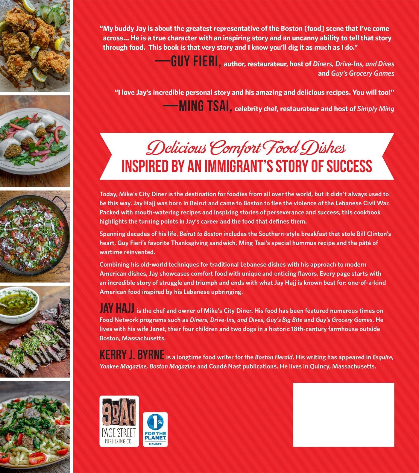 Beirut to boston a cookbook comfort food inspired by a rags to beirut to boston a cookbook comfort food inspired by a rags to restaurants story jay hajj 9781624143427 amazon books forumfinder Gallery
