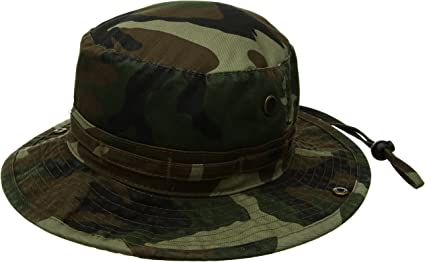 Tactical Camouflage Boonie Hat Military Hiking Bucket Fishing Hat Sun Cap