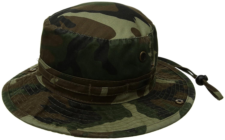 6c9fb3fa6c Amazon.com   Uzzo Tactical Head Wear Boonie Hat Cap For Wargame ...