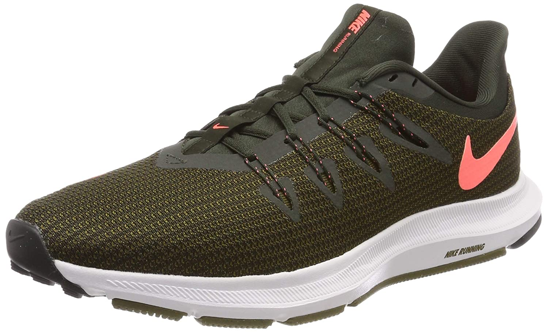 MultiCouleure (Sequoia Lava Glow Olive Flak 300) Nike WMNS Quest, Chaussures de Running Compétition Femme 35.5 EU