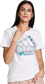 adidas W Mhg Bosillu T - Camiseta Mujer: Amazon.es: Deportes y aire libre
