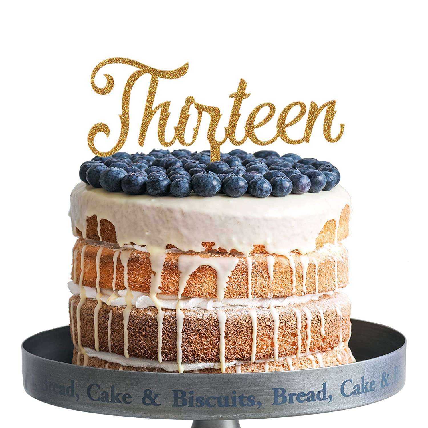 Superb Thirteenth 13 Years Old 13Th Birthday Cake Topper Decorations Funny Birthday Cards Online Eattedamsfinfo