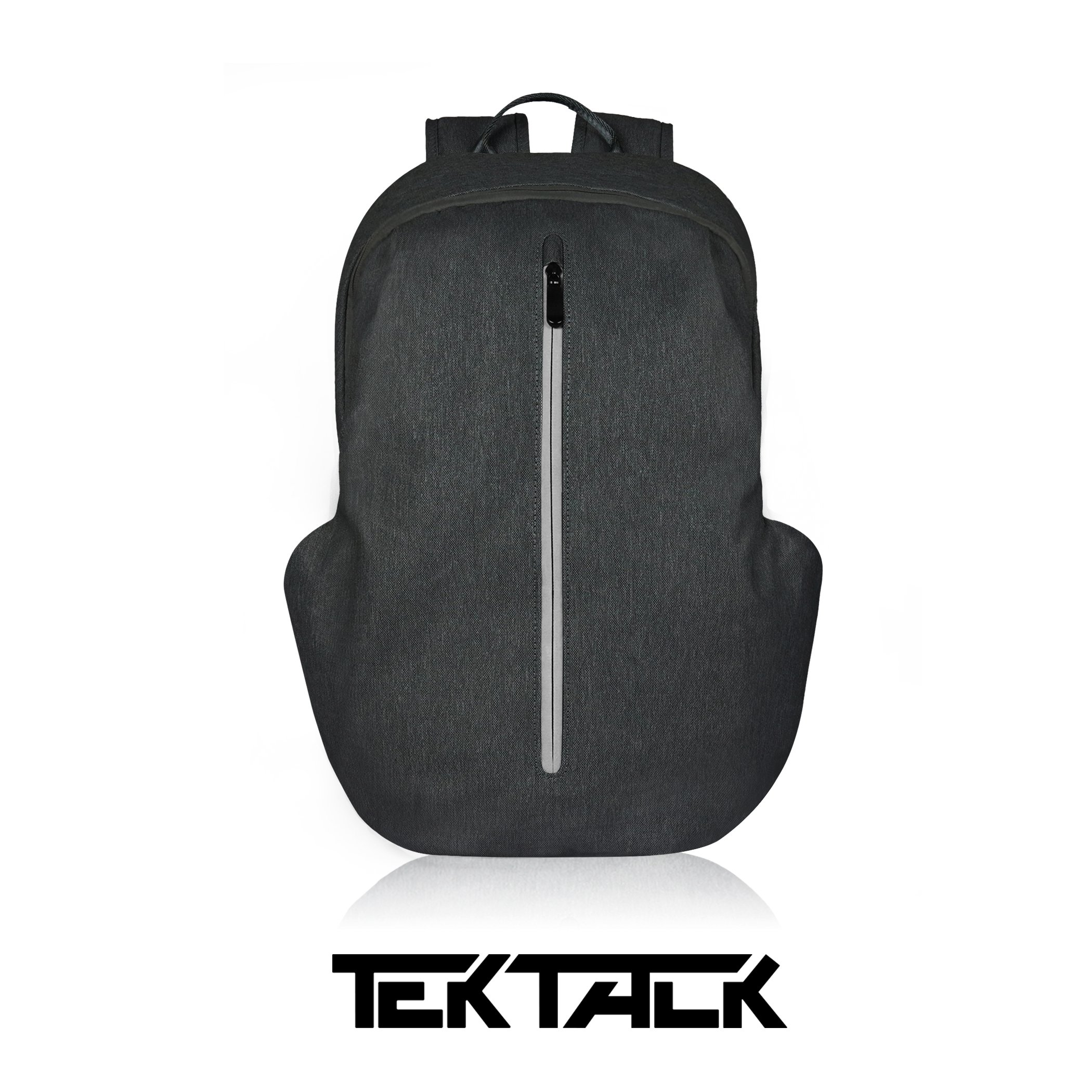 Tektalk Business Anti-theft Multifunctional Laptop Backpack, with USB Cable and Coded Lock, Durable & Lightweight, Suitable for Laptops up to 15.6 inches, for School / Travel / Work (Black)
