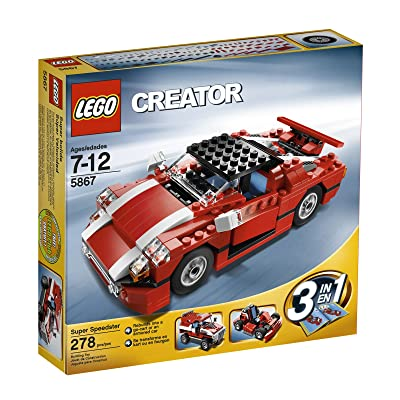LEGO Creator Red Car (5867): Toys & Games