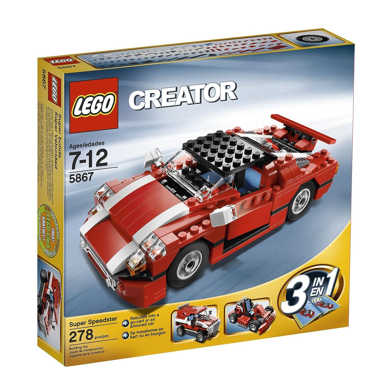 LEGO Creator Red Car (5867) by LEGO