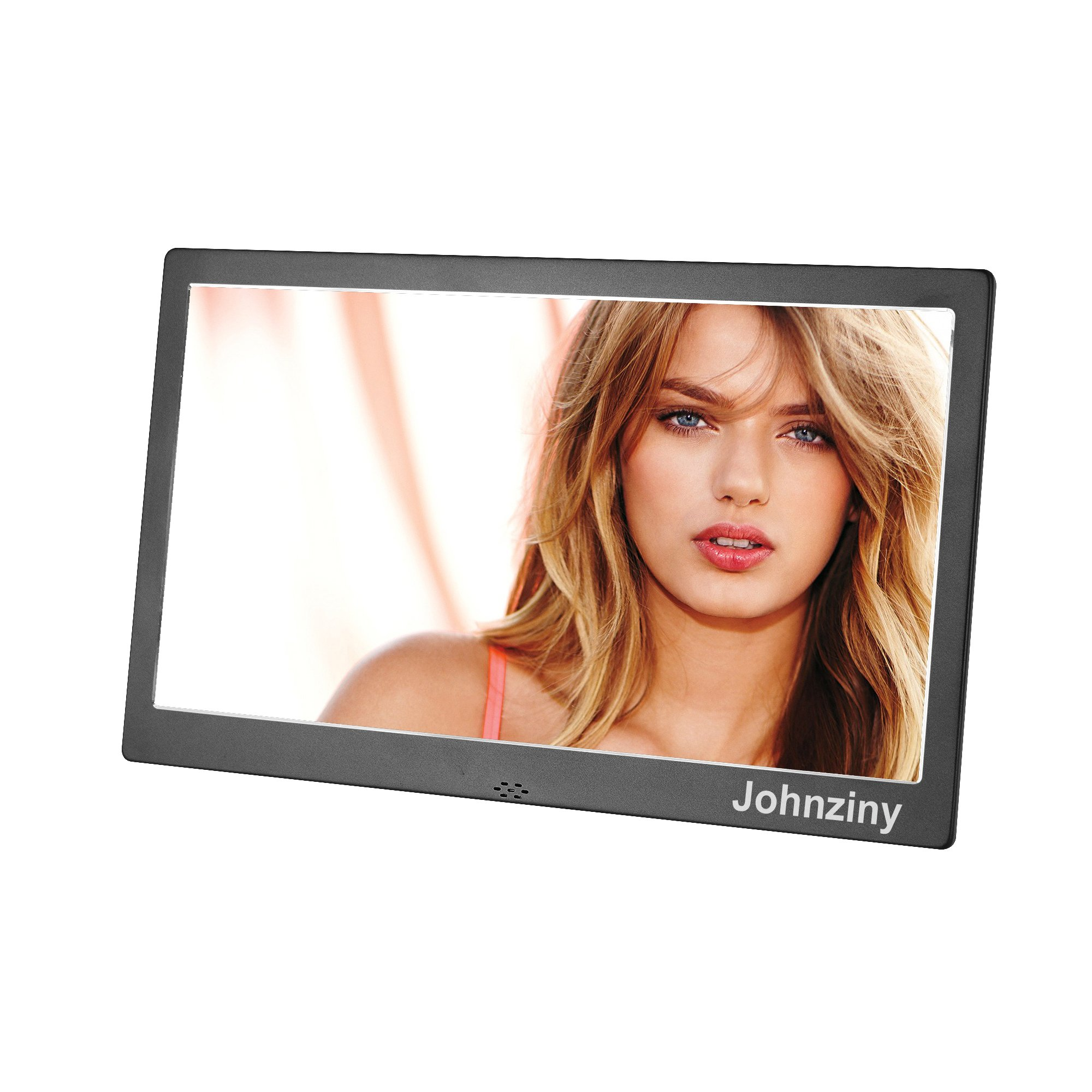 Digital Picture Frame 10 inch Metal Digital Photo Frame 1024x600 High Resolution Photo/Music/Video Player,with Remote Control/Calendar/12 Languages,USB/SD/MMC/MS Card Port by Johnziny (Image #2)