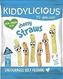 Kiddylicious Cheesy Straws, 12 g, Pack of 9