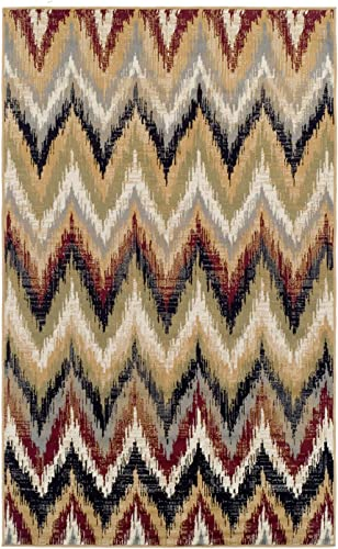 Superior Zigzag Collection Area Rug 8X10