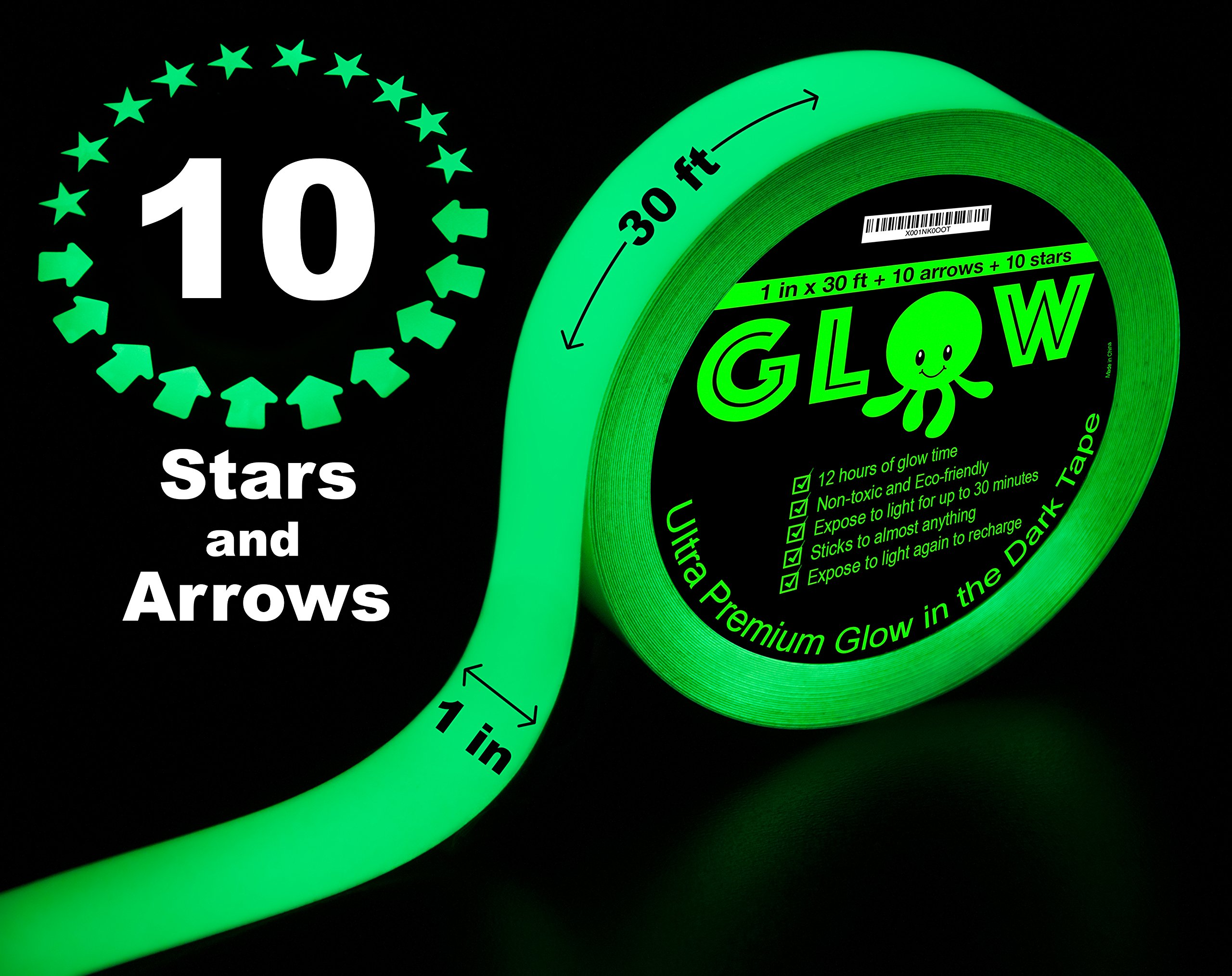 Best Glow In The Dark Tape For Safety Stairs Light