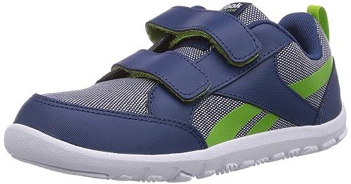 Reebok Ventureflex Chase - Zapatilla Deportiva de Material sintético niños, Color Azul, Talla 30,5: Amazon.es: Zapatos y complementos