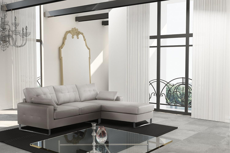 Corinne Cobson Haus Right Corner Sofa Solid Getaway Cream Leather Look Amazon De Kuche Haushalt