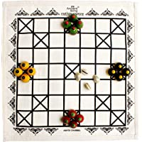 Ancient Living Ashta Chamma / Chowka Bara / Katta Mane / Ludo Board Game