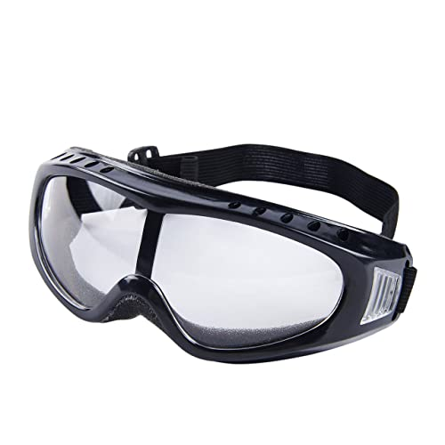 Babimax Protective Safety Glasses Crystal Clear Anti-Fog Design - High Impact Resistance - Perfect Eye Protection for Lab, Chemical, and Workplace Safety