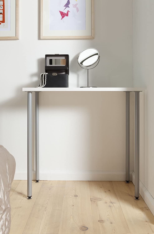 Durchmessesr 30 mm de acero con atornillar tama/ño 8 L 60 cm 11100-00176 para muebles Element System 4 pcs pies de tubo de acero redondo patas