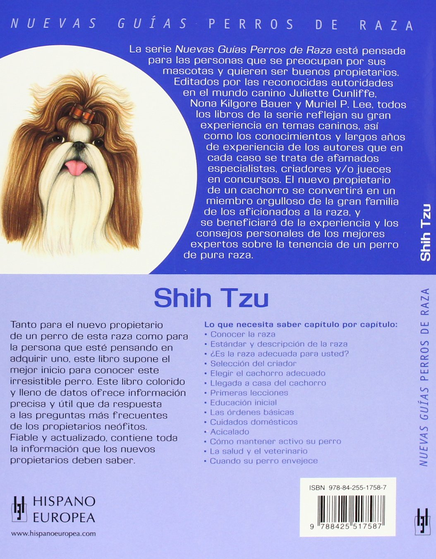 Shih-tzu-Nuevas-guias-perros-de-raza-Nuevas-guias-perros-de-raza-New-Guides-Dog-Breeds-Spanish-Edition