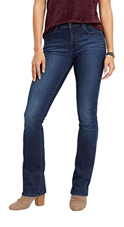 27496ee7cb9 maurices High Rise Boot Jean - Everflex Women s Dark Wash Baby at ...