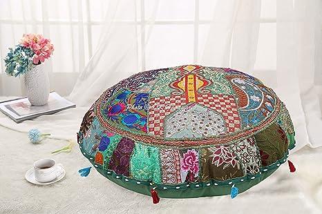 Amazon.com: DK Homewares Round Bohemian Floor Cushions ...