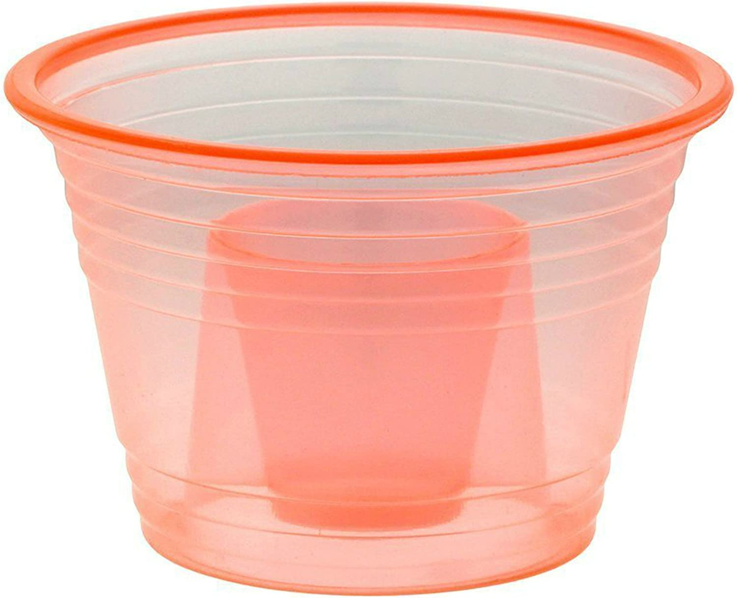 1000 Red Pink Jager Bomb Blaster Power Shot Glass Disposable Plastic Cup Case