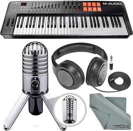 M-Audio Oxygen 61 IV - Controlador de teclado USB MIDI con ...