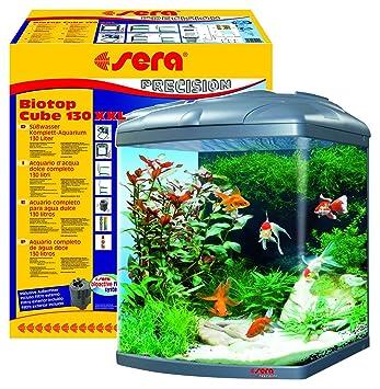 Sera 31150 Mondi Biotop Cube 130 XXL un 130 L Agua dulce de Acuario Completo con
