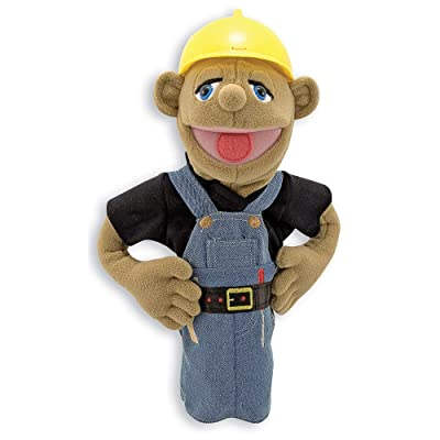 Melissa & Doug Construction Puppet: Melissa & Doug: Toys & Games