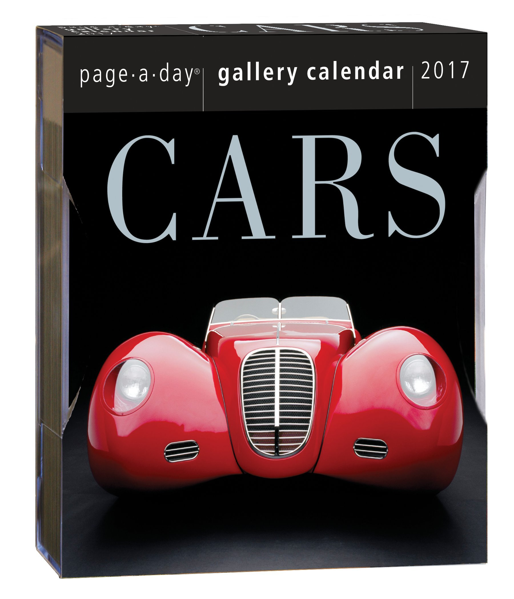 Cars Page-A-Day Gallery Calendar 2017: Workman Publishing ...