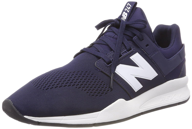 New Balance 247v2, Zapatillas para Hombre 42 EU|Azul (Pigment/White Munsell Melange)