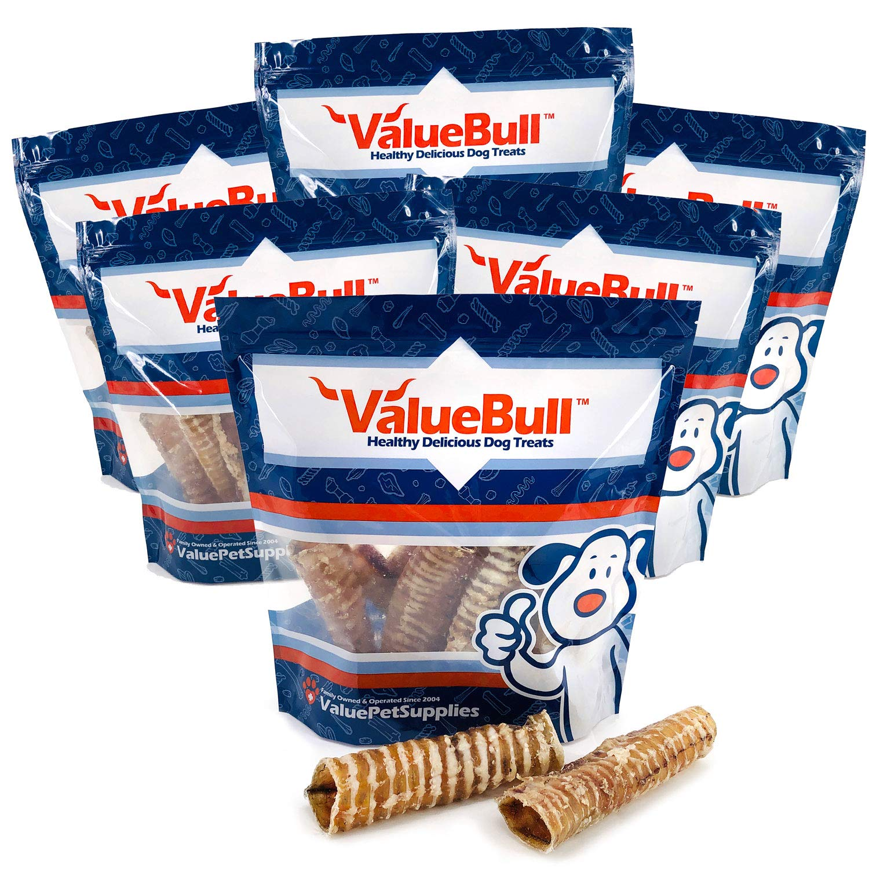 ValueBull USA Trachea Tubes Dog Chews, 7 Inch, 6 Pound