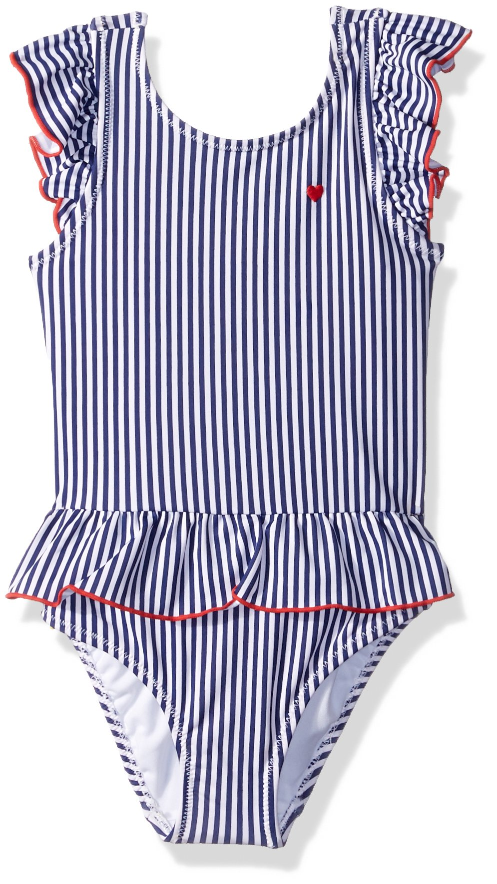 Carter's Girls' Toddler One Piece Swimsuit, Americana Stripe, 3T