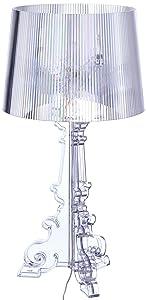 Kartell 9070B4 Bourgie Lampada , Colore Trasparente