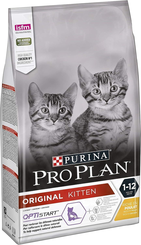 PURINA Pro Plan Comida Seco para Gato Junior con Optistart, Sabor Pollo - 1.5 Kg