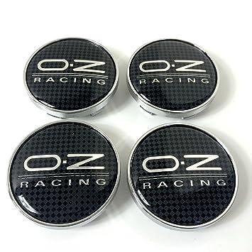 Tapacubos aleación efecto carbono OZ Racing, deportivos, 60 mm, 4 unidades: Amazon.es: Coche y moto