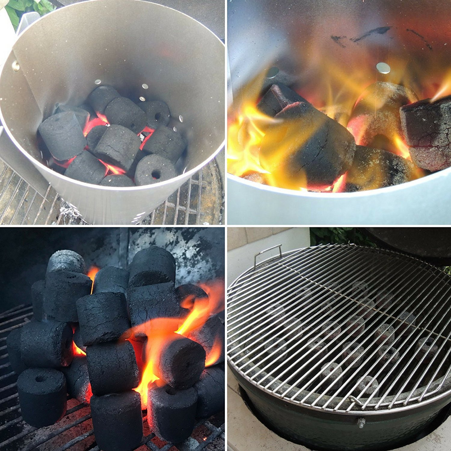 COCO-BBQ Eco-Friendly Barbecue (SET OF 6) Charcoal Made from Coconut Shells for Low and Slow Grilling by COCO-BBQ (Image #6)