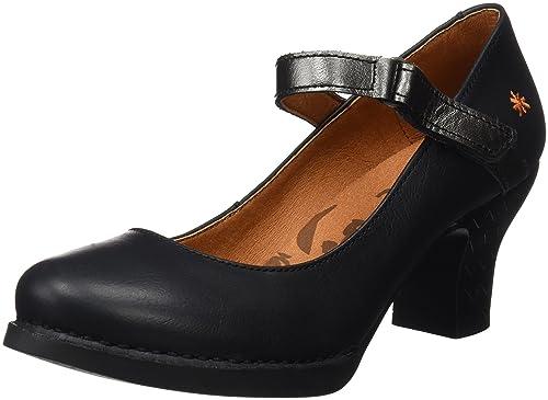 1064 Memphis Harlem, Zapatos de Tacón con Punta Cerrada para Mujer, Negro (Black), 36 EU Art