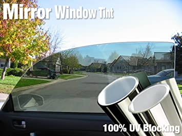 "VViViD Complete Mirror Car Window Wrap Tint Glass Vinyl Film 30 Inch x 60/"" 3 Full Cars 6-roll Pack"