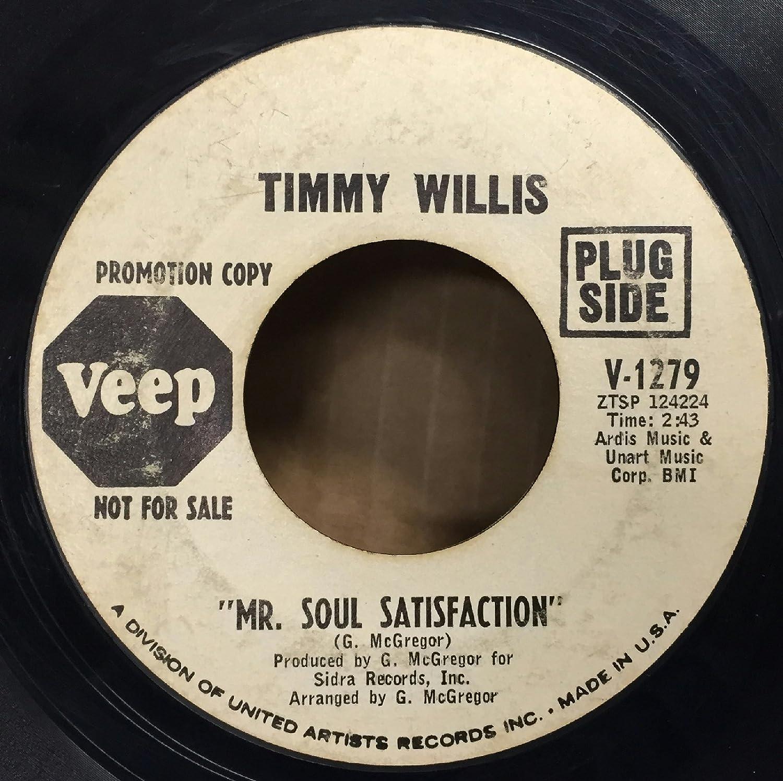 Timmy Willis Mr  Soul Satisfaction / I'm Wondering 7