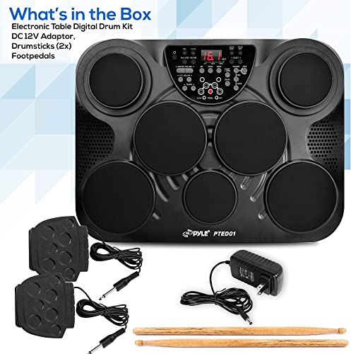 What is in the Box, Pyle Pro Tabletop
